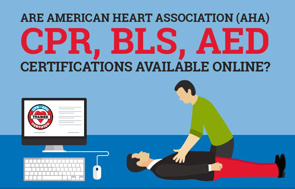 Online CPR American Heart Association (AHA) BLS & AED Certification ...